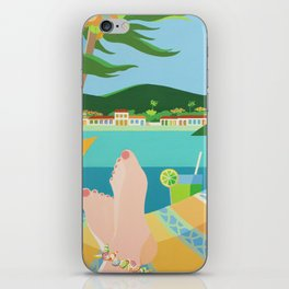 VACATION iPhone Skin
