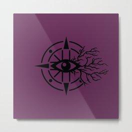 Emblem of Darkness Metal Print