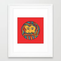 circle Framed Art Prints featuring Circle by Brad Hansen