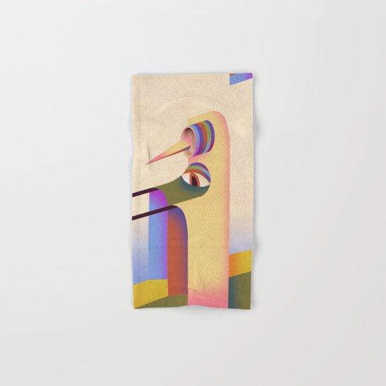Figure #1 Hand & Bath Towel