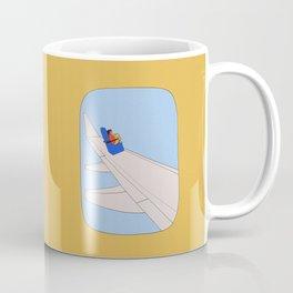 Fear of flying (2) Coffee Mug