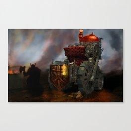 Tank Canvas Print
