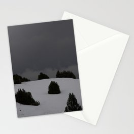 foggy landscape Stationery Cards