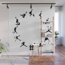 #TheJumpmanSeries, The First 12  Wall Mural