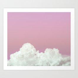 Blushed Sky Art Print