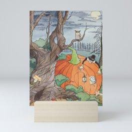 Peter the Pumpkin Eater Mini Art Print