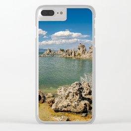 Mono Lake California - I Clear iPhone Case