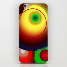 Ever Decreasing Circles iPhone Skin
