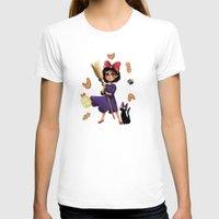 kiki T-shirts featuring Kiki and Jiji by Kristin Frenzel