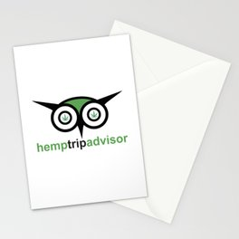 Hemp Trip Advisor Stationery Cards
