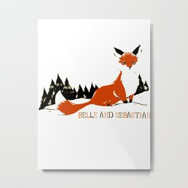 "Belle & Sebastian ""Fox In The Snow"" Metal Print"