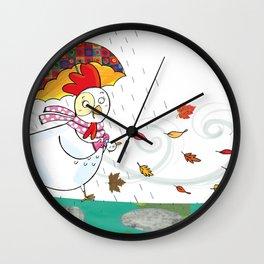 hen Wall Clock