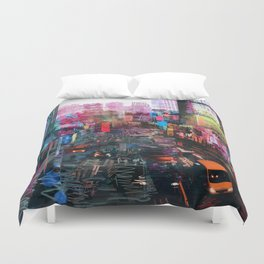 Sweet City Duvet Cover