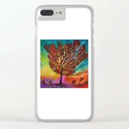 The Wow Tree Clear iPhone Case
