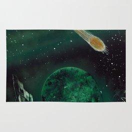 Copper Colored Comet Cometh Rug