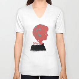 The Many Faces of Cinema: Leftovers Nora Ver. Unisex V-Neck