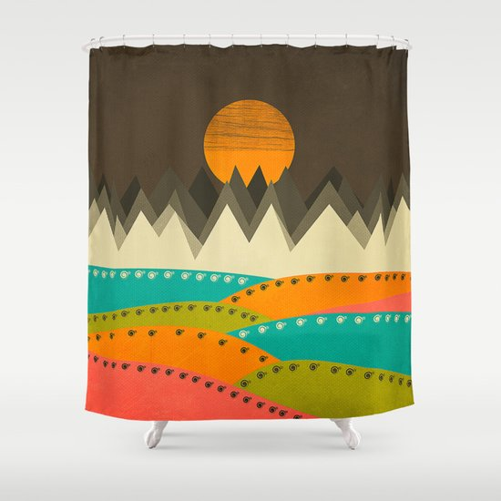 Textures/Abstract 122 Shower Curtain