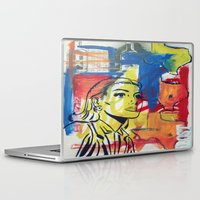 texas Laptop & iPad Skins featuring Texas by Asher Feehan