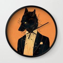 Lord Among Wolves Wall Clock