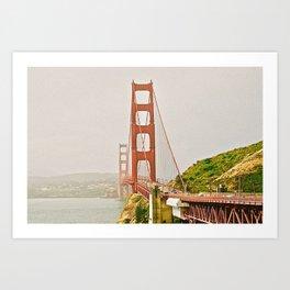 Golden Gate Bridge III Art Print