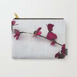 Dainty Red Single Stem Carry-All Pouch