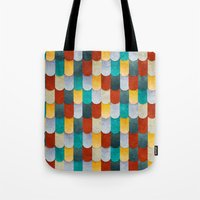 mermaid Tote Bags featuring Mermaid by Diogo Verissimo