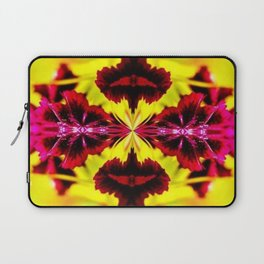 Yellow and Red in Kaleidoscope Laptop Sleeve