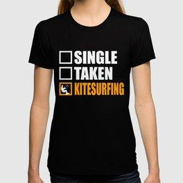 Kitesurfing Is My Girlfriend T-shirt