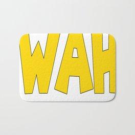 Wah (Waluigi's Voice) Bath Mat
