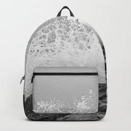 stormy sea Backpack
