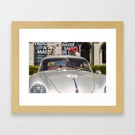 Car, voiture Framed Art Print