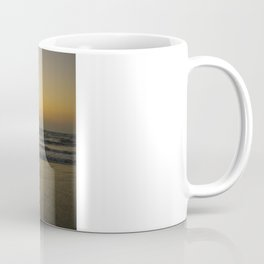 Yogi Sunset over Indian Ocean Coffee Mug