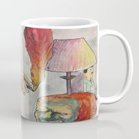 smoking Mugs featuring Smoking by kkkkk