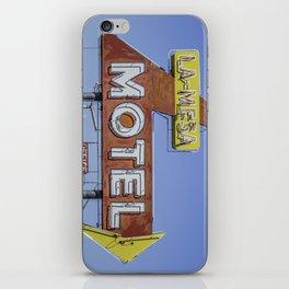 La-Mesa Motel iPhone Skin