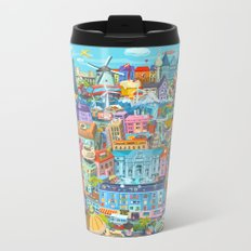 Happy 60th Birthday European Union Metal Travel Mug