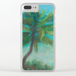Belle's Journey: Island Hopping Clear iPhone Case