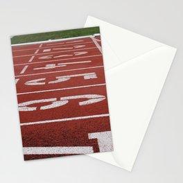 Olympics Tartan Running Track Stationery Cards