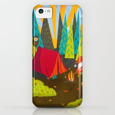 Let's Go Camping Slim Case iPhone 5c