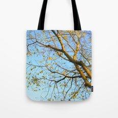 Last Leaves of Autumn Tote Bag