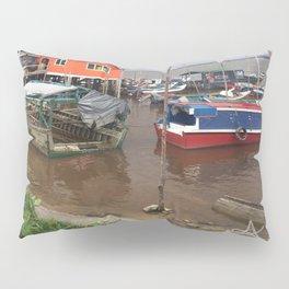 Murky Pier in South America Pillow Sham