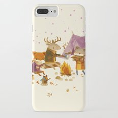 Critters: Fall Camping iPhone 7 Plus Slim Case