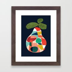 Fresh Pear Framed Art Print