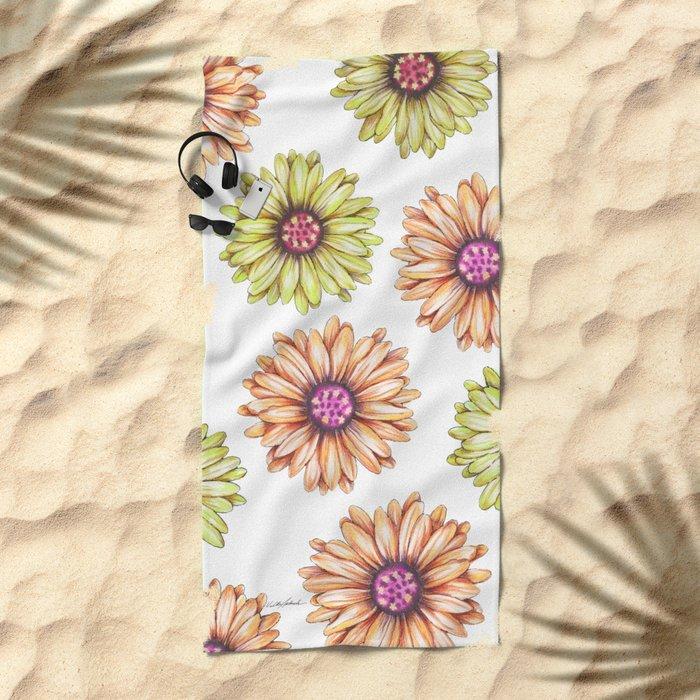 Fun With Daisy- In memory of Mackenzie Beach Towel