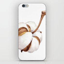 Cotton Flower 01 iPhone Skin
