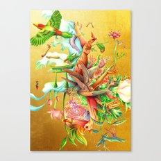 生まれサークル Umare Circle Canvas Print
