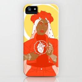 patron saint iPhone Case