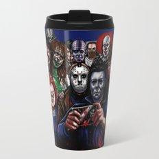 Horror Villains Selfie Travel Mug