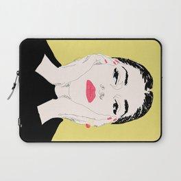 Pop Maria Callas - Yellow Laptop Sleeve