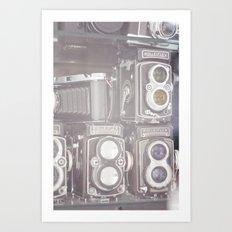 Film Cameras Art Print
