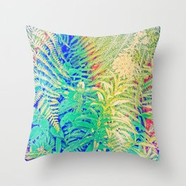 Fern and Fireweed 05 (everyday 15.01.2017) Throw Pillow